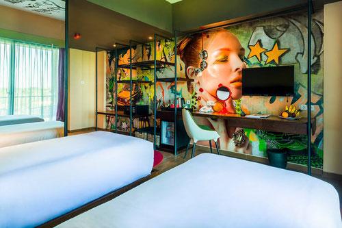 Studio Twin room al Dash Hotel in Seminyak - Bali (Photo by Dash Hotel Seminyak)