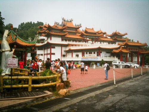 Thean Hou Temple in Kuala Lumpur (Photo by Gabriele Ferrando)
