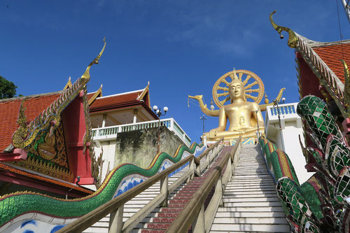 Big Buddha Temple in Koh Samui - Thailand