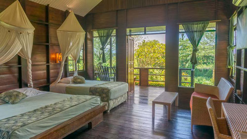L'interno del cottage del Thalassa Dive Resort Manado, Sulawesi - Indonesia (Photo by Thalassa Dive Resort)