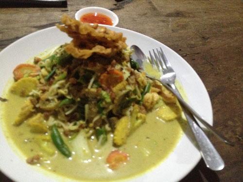 Laksa Noodles al Warung Setia in Pemuteran - Bali (Photo by Gabriele Ferrando)