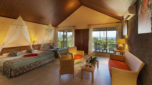 L'interno del bungalow del Thalassa Dive Resort Manado, Sulawesi - Indonesia (Photo by Thalassa Dive Resort)