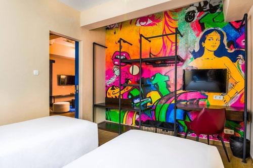 Dash Two room al Dash Hotel in Seminyak - Bali (Photo by Dash Hotel Seminyak)
