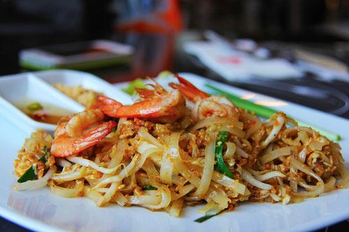 Il Pad Thai, forse il piatto piu famoso della cucina Thai.