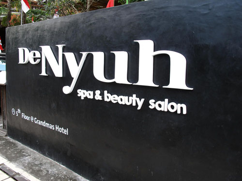 De Nyuh Spa al GrandMas Plus Hotel Seminyak (Photo by Gabriele Ferrando)