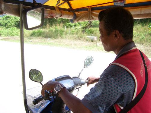 Moto Taxi a Koh Lanta (Photo by Gabriele Ferrando)