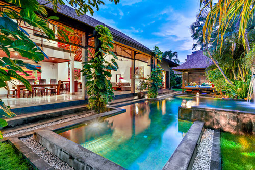 Villa Taksu in Kuta-Legian, Bali (Photo by Villa Taksu)