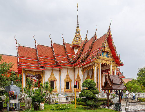 Wat Chalong, tempio buddhista a Phuket (Photo by CEphoto, Uwe Aranas)