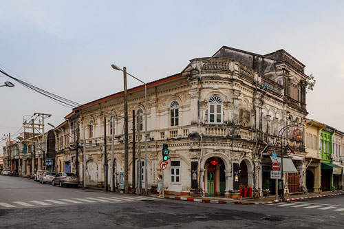 Edificio storico a Phuket Town (Photo by CEphoto, Uwe Aranas)