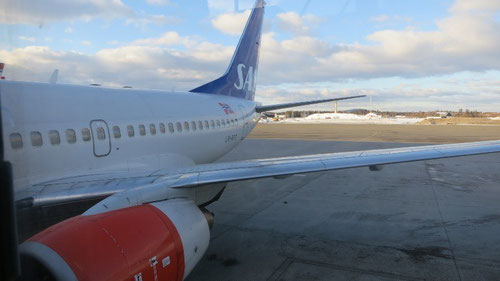 Ankunft in Oslo von Kirkenes