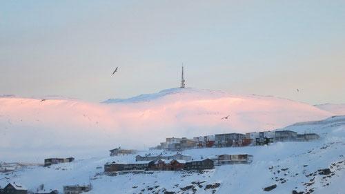 Morgensicht in Hammerfest