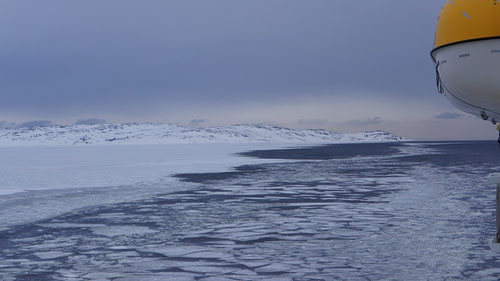 Fahrt nach Kirkenes