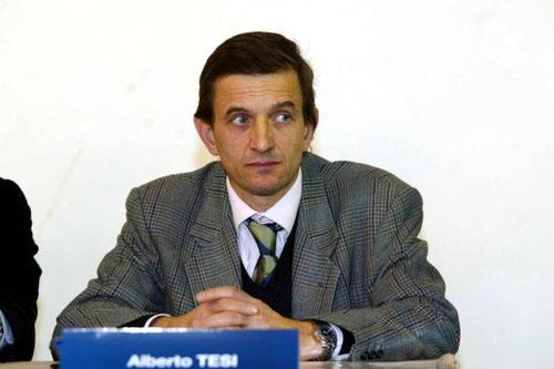 Il rettore dell'Università di Firenze Alberto Tesi