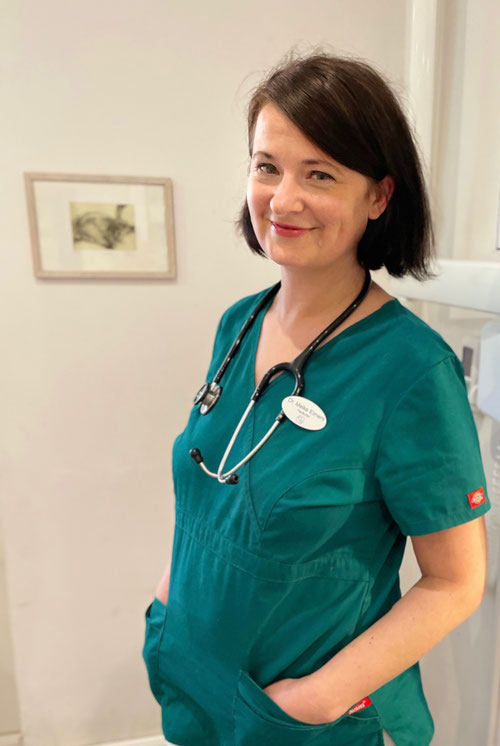 Tierärztin Dr. Meike Eimers, Tierarztpraxis am Amalienpark Pankow