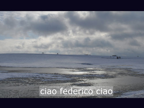 ciao federico ciao / 2012