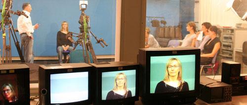 Hörfunk- und TV-Studio der BJS
