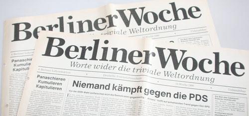 Berliner Woche Abschlusszeitung