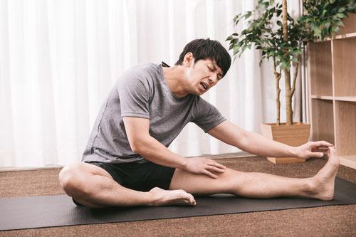 腰痛で前屈できない奈良県香芝市の女性