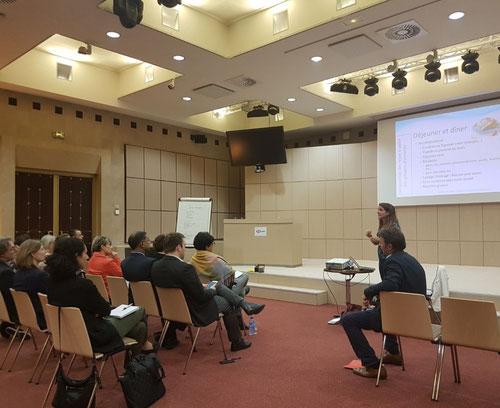 Conférence nutrition chez HSBC