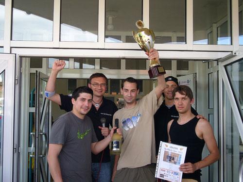 "Sieger 2013: Die ""Volleyhood Stars"""