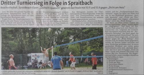 Bericht der Remszeitung vom 21.07.2017