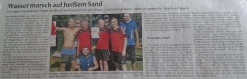 Zeitungsbericht Remszeitung