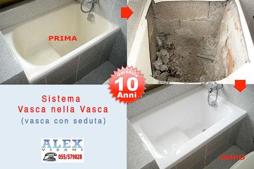 Vasca Da Bagno Rovinata : Sovrapposizione vasca da bagno con seduta eseguita a firenze