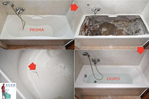 Sovrapposizione Vasca Da Bagno Torino Prezzi : Sostituzione completa vasca da bagno firenze prato pistoia