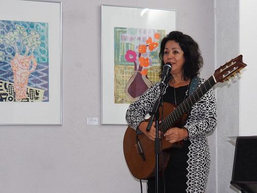 Ignez Carvalho, Ausstellung Treibhaus , GEDOK Galerie, GEDOK Heidelberg