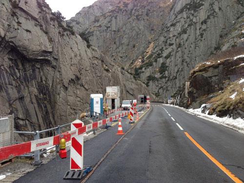 Sanierung Tunnel Urnerloch Andermatt mit Teufelsbrücke
