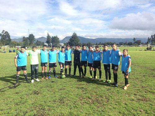 Equipo Prejuvenil de San Pablo en Maracaná. Sep. 05 2017