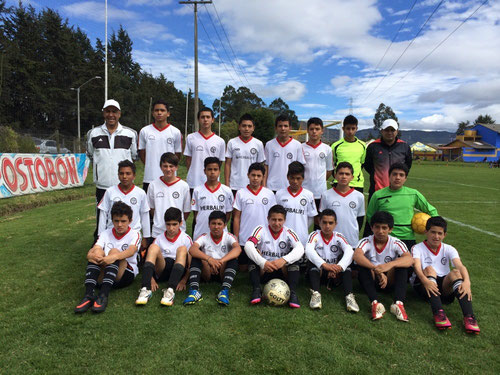 Equipo Infantil de San Pablo, ganador 6-1 sobre Scorpions , sep. 13 de 2014
