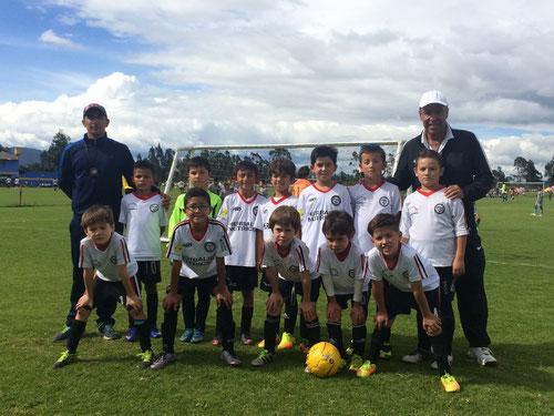 Equipo de Transición de la Escuela de Futbol San Pablo, Torneo Maracaná 2017