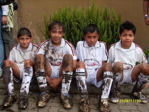 Yepes, Sterling, Juan Pablo y Alejo Borjas (Foto del Recuerdo) Año 2008, todos grandes jugadores y extraordinarios seres humanos.