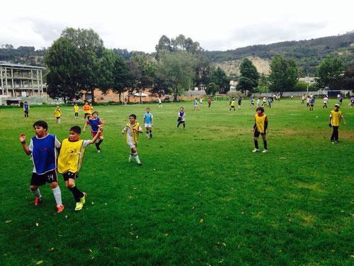 Escuela de fútbol San Pablo, curso de vacaciones Díc. 2013