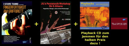 E-Gitarren Musikalien für Einsteiger & Fortgeschrittene