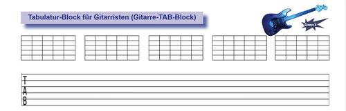 Neben den TAB-Linien mit weiten Abständen sind auch die Diagramm-Felder sehr praktisch...