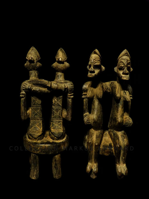 Kouto Senufo Senoufo Tugubele couple art