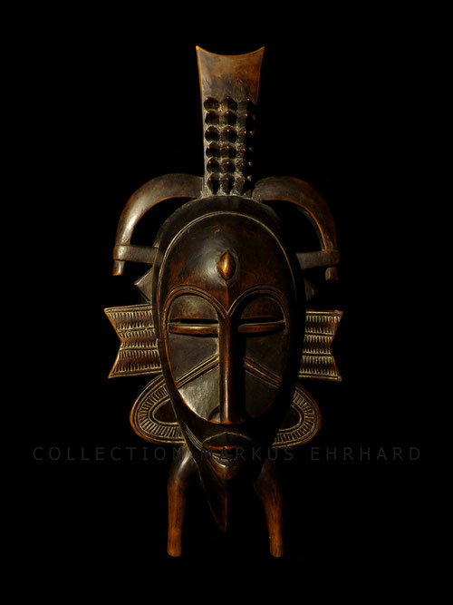 Masterpiece Kpelié mask by Songuifolo Silué Senufo Senoufo art