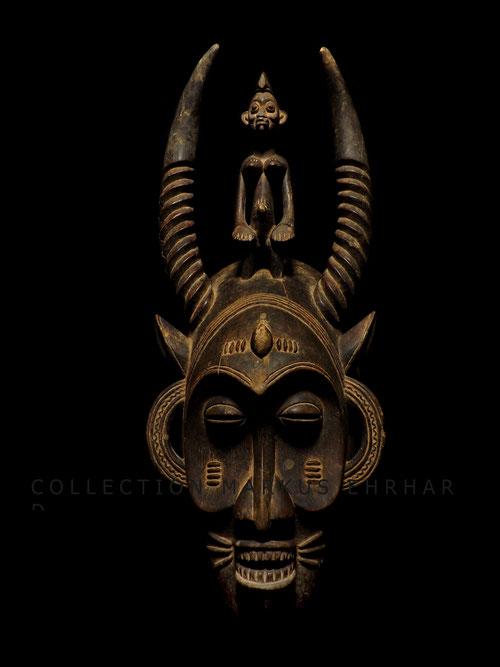 Senufo Kpelie mask masken Senoufo Coulibaly