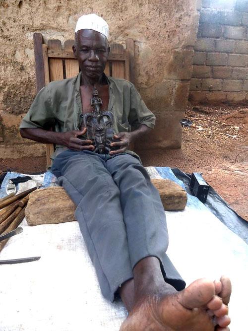 Korhogo, Senufo Senoufo art, Kpelie Coulibaly