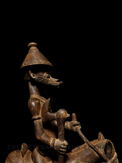 Syonfolo Senufo Senoufo cavalier horserider statue