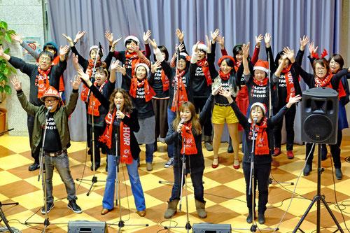 アルファアカデミーゴスペルスクール桂病院クリスマスコンサート