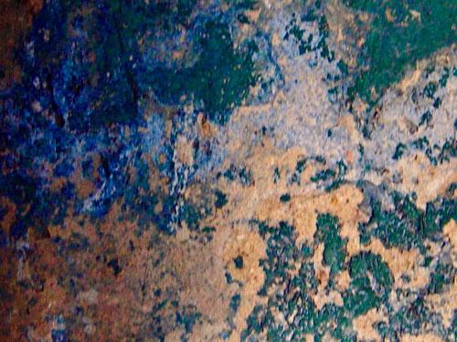 wunderschön die sich gegenüberstehenden blaugrün-Kontraste