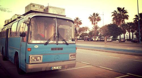 Nach 9 Std eben in Marbella eingetroffen