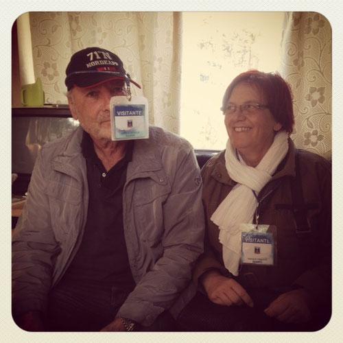 Horst und Gitta retten uns heute den Tag!