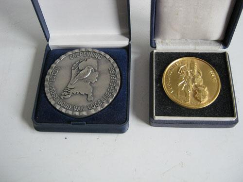 Ehrenpfennig des Niederländischen Verbandes - Goldener Kraxenträger der VOGELZUNFT IMST