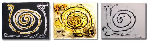 """Bilder aus meiner """"Spiralen-Zeit"""""""