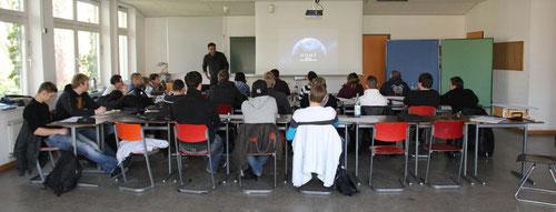 2-tägiges Kompaktseminar in der Berufschule Kassel mit angehenden Landschaftsgärtnern