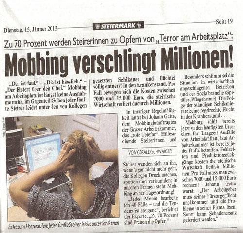 Kronen Zeitung 15.01.2013